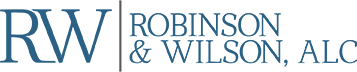 Robinson & Wilson, ALC logo